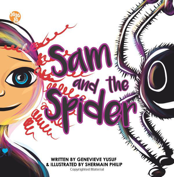 Sam and the Spider book cover